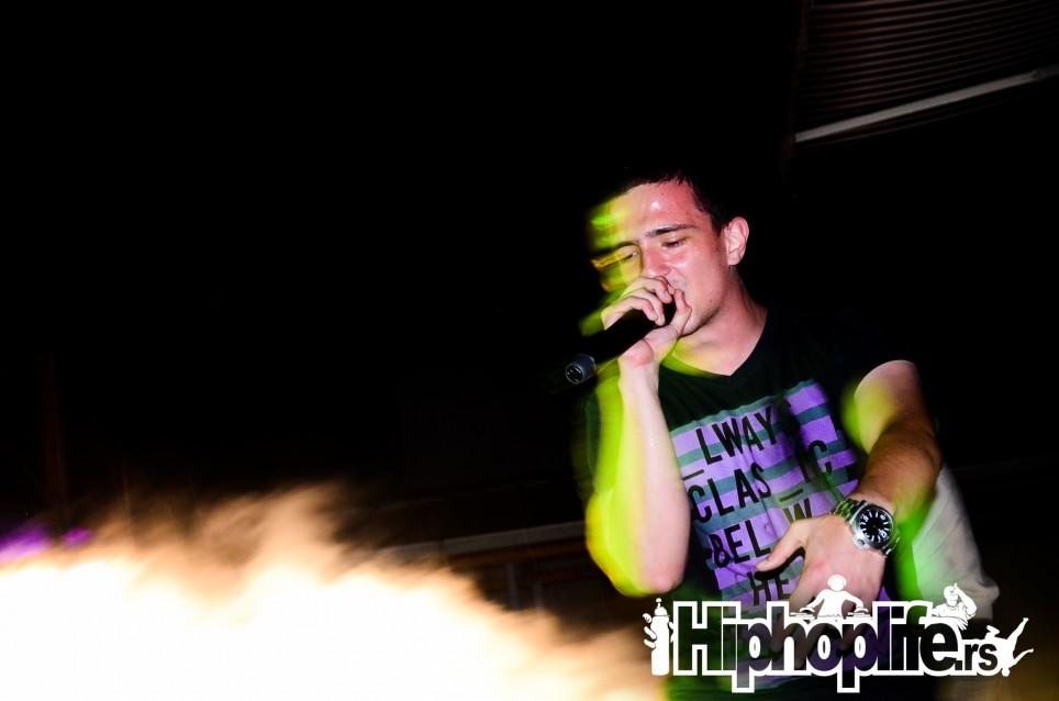 PRTI BEE GEE @ BAŠTA SAVA CENTRA 12.9.2014 | Hiphoplife.rs